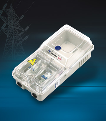 Single phase one meter Meter Box(Mechanical Type)