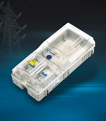 Single phase one meter Meter Box(L Type)