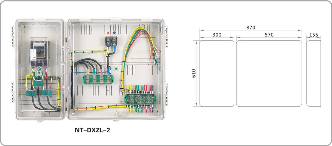 三相电表互感器和接线盒接线图
